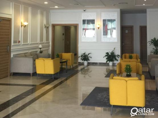 Hurry Up! Limited time promo!!  Luxury 2-BR apartment in Alsadd with exceptional design and excellent  amenities. Including water, electricity and internet! No commission!