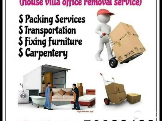 Moving & shifting service. Please call us anytime 50920136