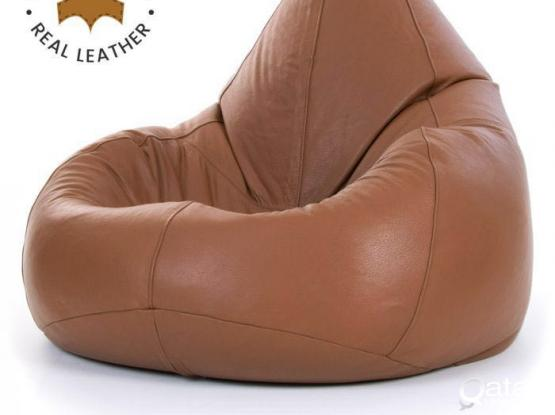 new leather bean bags.