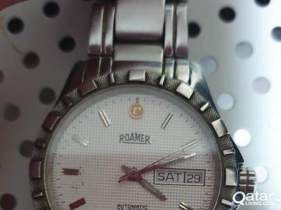 ROAMER Automatic Swiss Made watch (25 jewels)