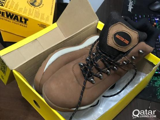 SAfety Shoes Leather