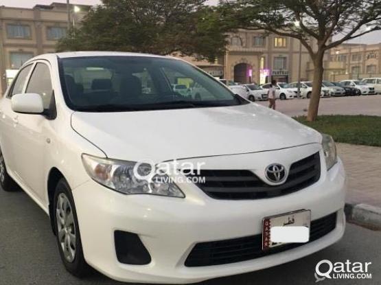 Toyota Corolla XLI 2012