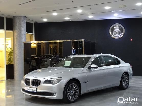BMW 7-Series 730 Li 2012