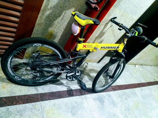 1month used Hummer bicycle for sale