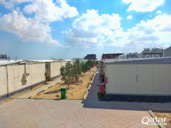 Labour Camp, Stores, Supermarket,Ware houses, Porta Cabin @ AL WUKAIR