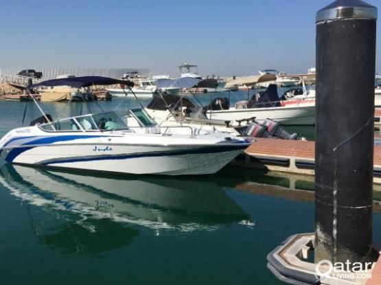 200 HP Like New 23 Ft Boat (Less than 30 hrs)
