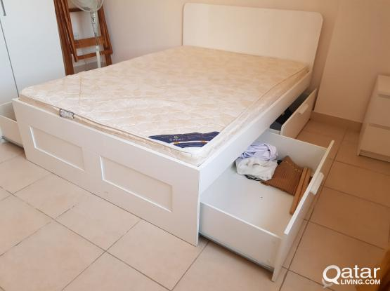 Storage bed for sale