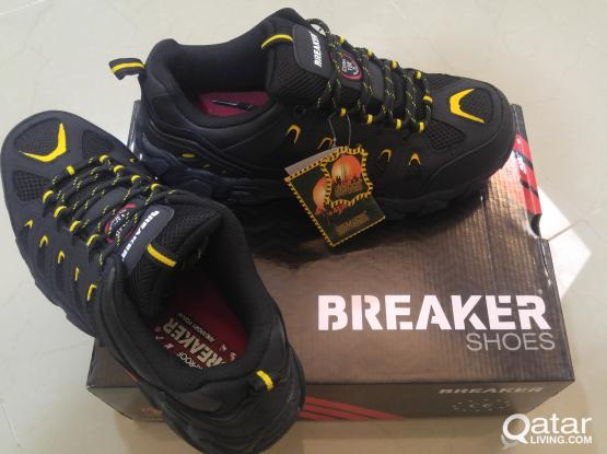 New Breaker Safety Shoes (size 43 & 44)