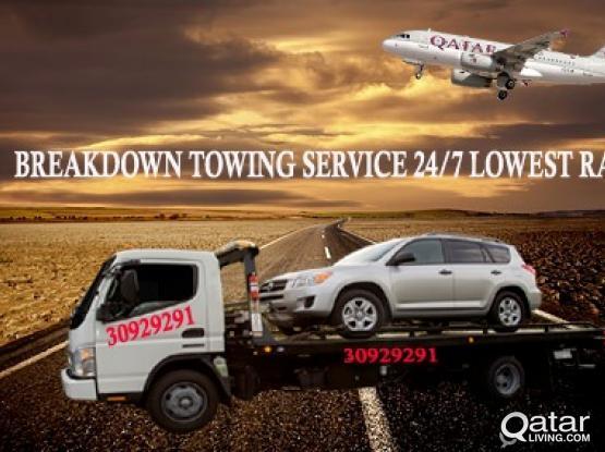 بريكداون   Car Breakdown Towing Service