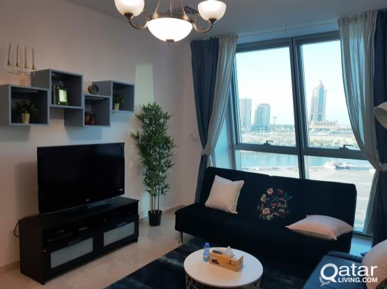 F/F 2 BR Flat In Zigzag Tower