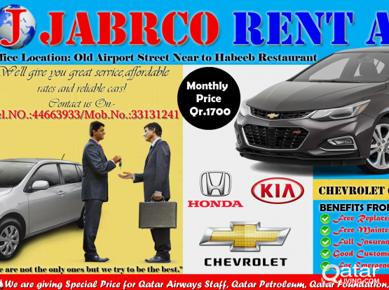Sedan /Hatchback & SUV Vehicles Available For Rent Call : 44663933/33131241(WhatsApp)