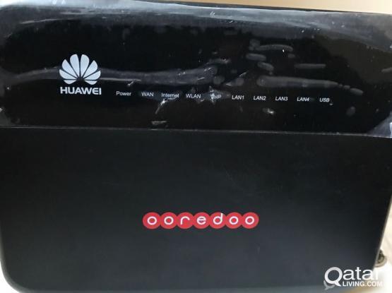 Three Router available near LULU // D Link - 100 QAR // Link SYS-100 QAR & Huawei- 150 QAR