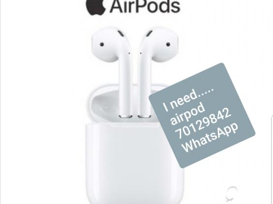 I'm looking for airpod apple