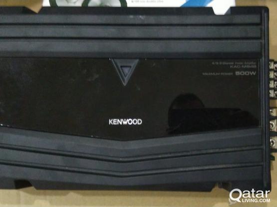 Four  new speakers  New kenwood sub woofer  New Amilfire