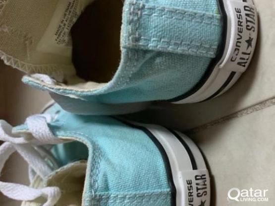 2 Pairs Converse All Star Shoes