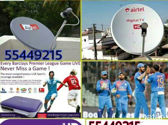 I do any satellite dish tv work & Dish, receiver sell. your need installation, just call & what's app me 55449215