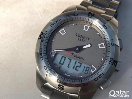 Tissot T Touch 2 Silver watch