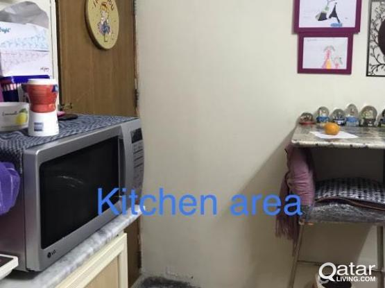Bedframe/Mattress/Wardrobe  studio room for rent