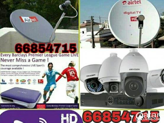 I do any satellite dish tv work  Dish, receiver sell.and CCTV Camera works best, your need installation, just call  whats app me 66854715