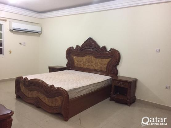 1 fully furnished bedroom in Bin Mahmoud near La Cigale Hotel (Actual Pic attached )55093182 or 70768139