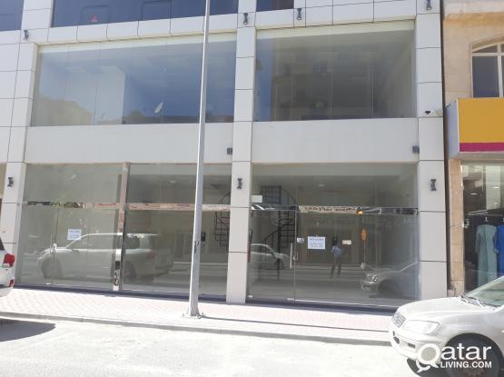 Brand New Shops available in Muntaza with Mezzanine Floor