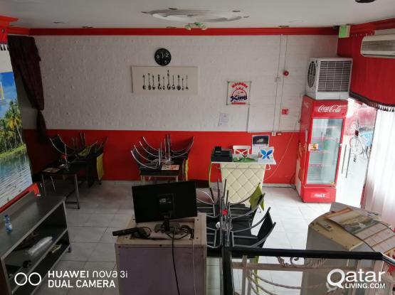 Restaurant with party hall for urgent sale or for rental