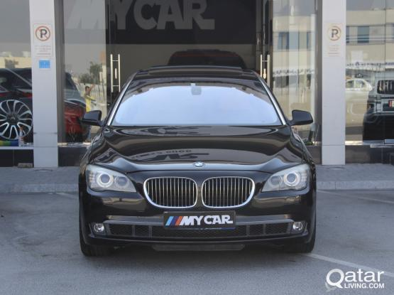 BMW 7-Series 740 Li 2010