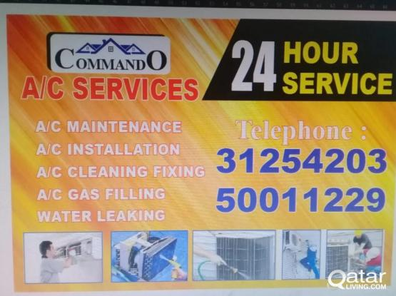 AC SERVICE AND FIXING CALL : 31254203