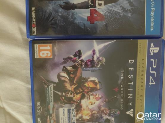 UNCHARTED 4 + DESTINY for PS4
