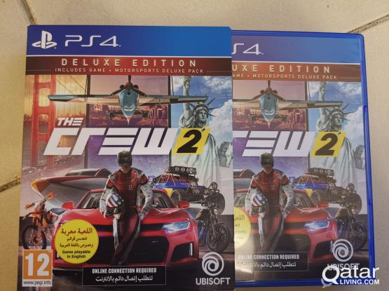 Sony PS4 Game The Crew 2