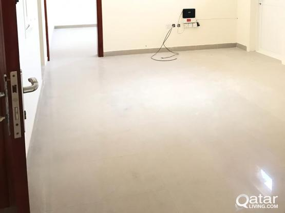 2 bedroom spacious unfurnished apartment at old airport