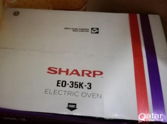 sharp oven and grill