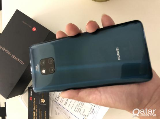 ALMOST brand new Huawei Mate Pro 20 (10 days old) for SALE