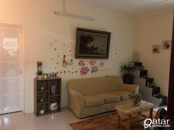 Spacious 3 BHK In Azizia Near Villagio (Opposite Al Esraa School)