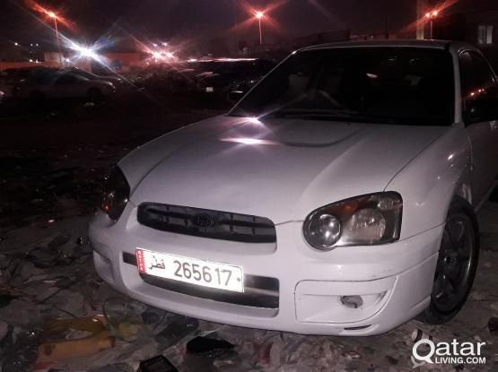 Subaru Imperza 2003