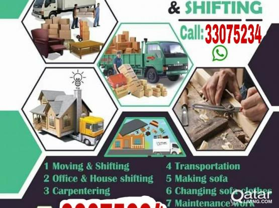 Shifting Moving Carpenter Transportation service low price call me-33075234