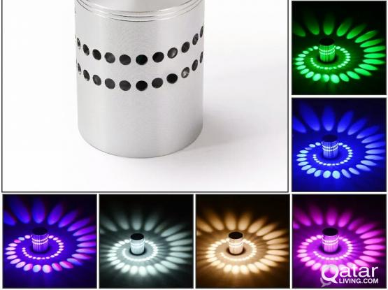 colourful decoration wall lamp