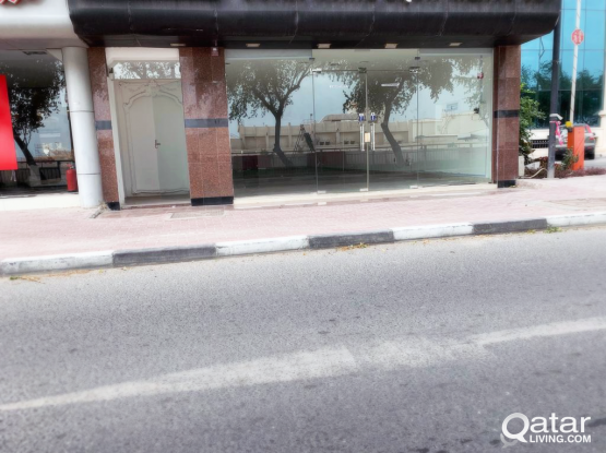 Unfurnished, Commercial Showroom Shop For Rent in Old Airport