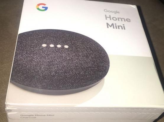 Google home mini brand new sealed in the box