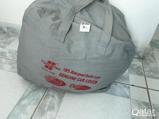 Car cover double layer.