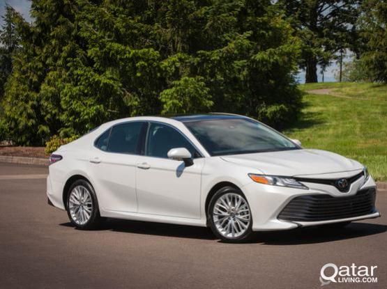 one day offer! grab TOYOTA CAMRY ON 180 PER DAY (2018) MODEL