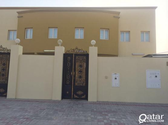 Standalone 5 bedrooms all attached bathroom villa with maids room