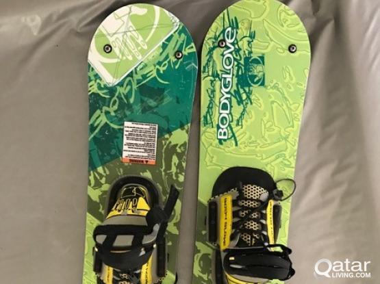 Wake Ski Blades- Body Glove 257