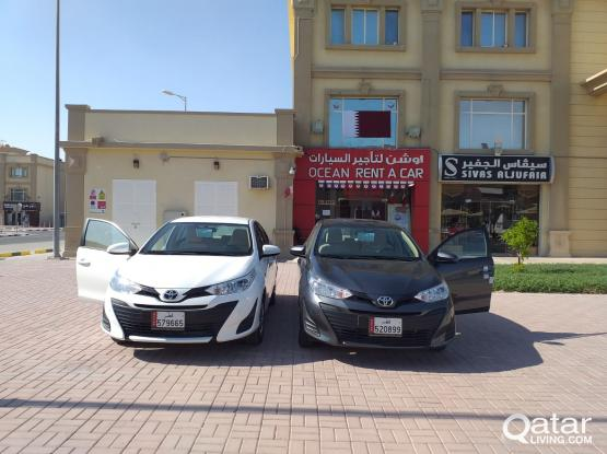 2019 MODEL TOYOTA YARIS 1900 QAR ONLY FOR A MONTH CALL-50399151