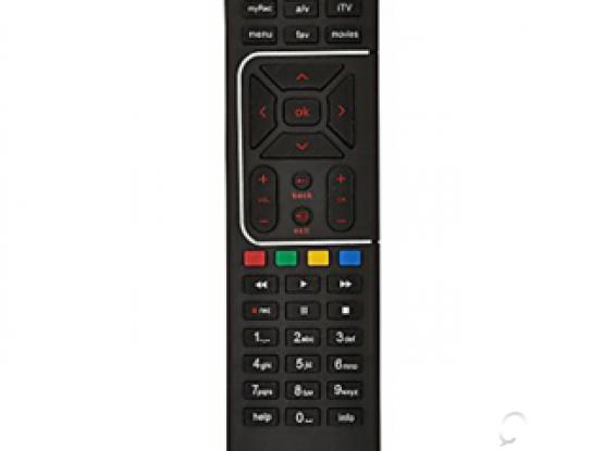 Airtel DTH HD Receiver + Remote+Big Dish 550/-