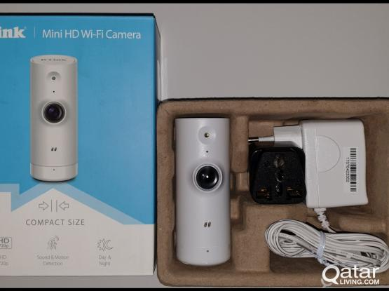 Home Security D-Link Mini HD Wi-Fi Camera-new