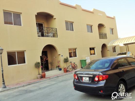 compound villa 4 bedroom with balcony semi furnished at garaffa