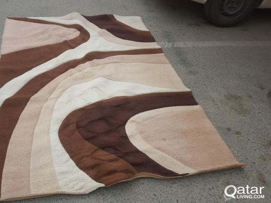 2 Carpets, Big (160x230) & medium (120x180)
