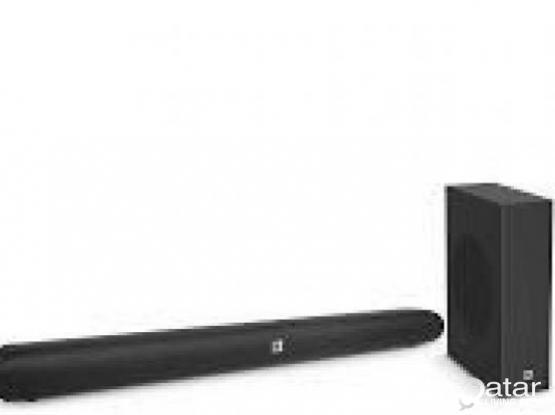 LG UHD Smart TV and JBL SB150 Sound System