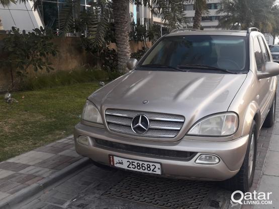 Mercedes ML 55 AMG 2001